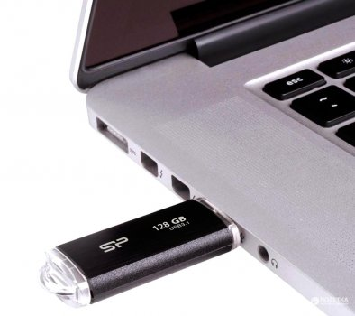 Silicon Power Blaze B02 128GB USB 3.0 Black (SP128GBUF3B02V1K)