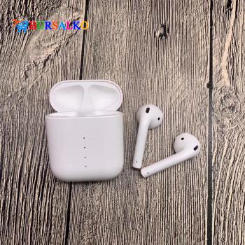 Бездротові навушники сенсорні TWS i100 tws Double V 5.0 EDR Bluetooth Plus Pop-up Class LUX Stereo Bass NEW з підтримкою бездротової зарядки White (0052BS)