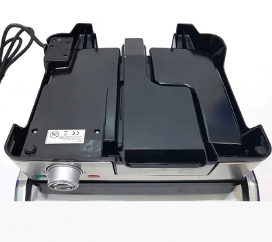 Гриль електричний DSP KB1045 Електрогриль 1800Вт контактний + знімні пластини + піддон + регулювання температури + индикатр + антипригарне покриття для будинку