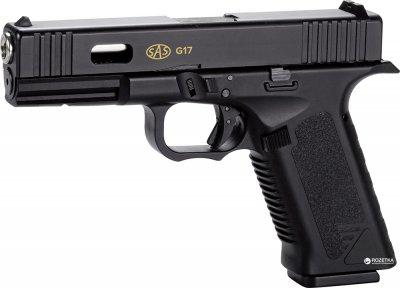 Пневматичний пістолет SAS G17 Blowback 4.5 мм (KMB-19AHN)