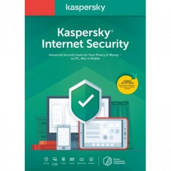 Антивірус Kaspersky Internet Security Multi-Device 2020 5 ПК 1 year Base Box (DVD (5056244903350)