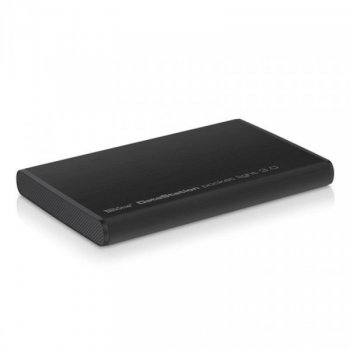 "Жорсткий диск Trekstor DataStation Pocket Light 320ГБ 2.5"" USB 3.0 External Black (TS25-320PL) Б/У (5/5)"