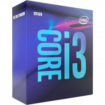 Процессор Intel Core i3-9100 4/4 3.6GHz 6M LGA1151 65W box (JN63BX80684I39100)