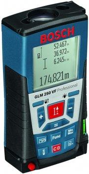 Дальномер лазерный Bosch Professional GLM 250 VF, ± 1мм, 0,05-250 м, синий (JN630.601.072.100)