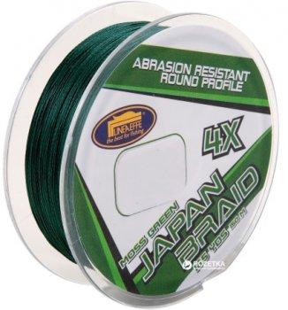 Шнур Lineaeffe Japan Braid 4X PE Moss Green 150 м 0.12 мм 5.5 кг Темно-зеленый (3016012)