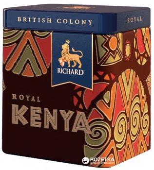 Чай Richard черный крупнолистовой Royal Kenya 50 г (4823063700603)