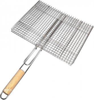 Решетка-гриль из нержавеющей стали А-Плюс 33 x 42 см (0761)