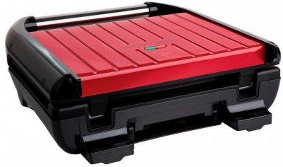 Электрогриль George Foreman 25030-56 Compact Steel Grill, 1200 Вт, Красный (JN6325030-56GF)