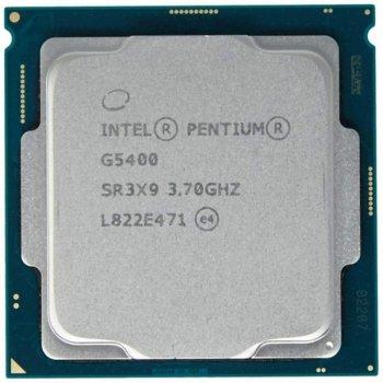 ПРОЦЕСОР INTEL PENTIUM G5400 CM8068403360112 (S1151, 3.7 GHZ) TREY
