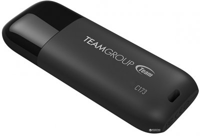 Team C173 USB 2.0 16GB Pearl Black (TC17316GB01)