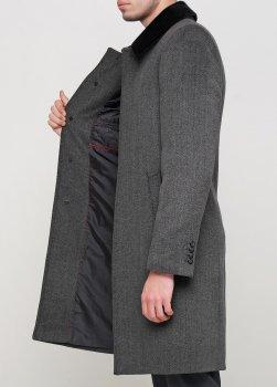 Чоловіче пальто Mia-Style DIP-3 сірий