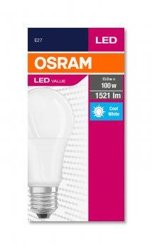 Світлодіодна лампа OSRAM Value 13W/840 230V FR E27 4000K (4052899973428)