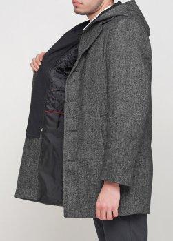 Чоловіче пальто Mia-style MIA-001 сірий