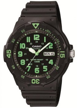 Наручний чоловічий годинник Casio MRW-200H-3BVEF