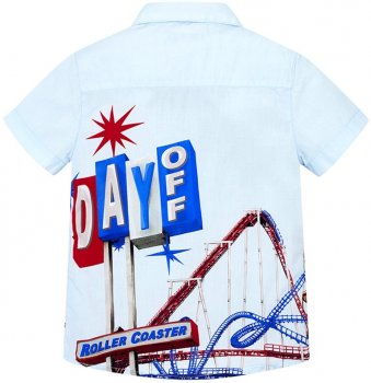Рубашка Mayoral 3136-83 Голубая