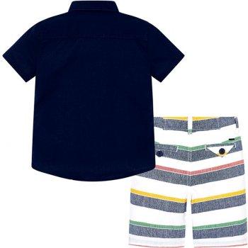 Костюм (рубашка + шорты) Mayoral 3246-26 Синий