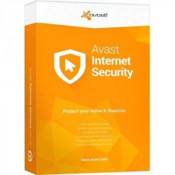 Антивирус Avast Internet Security 1 ПК 1 год (новая эл. лицензия) (AVAST-IS-8-B-1Y-1P)