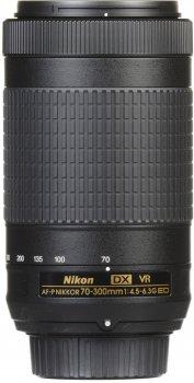 Nikon AF-P DX Nikkor 70-300 mm f/4.5-6.3G ED VR (JAA829DA) Офіційна гарантія!