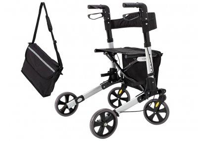 Ролатор Kesser, ходунки на колесах для взрослых и инвалидов алюминиевый