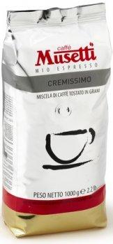 Кава Musetti Caffe Cremissimo в зернах 1000 г