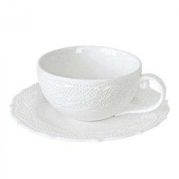 Чашка с блюдцем для кофе Krauff Irish Lacy 120 мл (21-252-082)