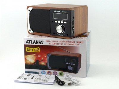 Портативна Колонка FM акустична Atlanfa AT-1822BT 6W (00417)
