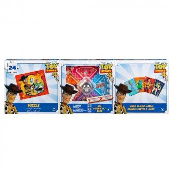 """Настільні ігри Spin Master Набір з 3-х настільних ігор """"Історія іграшок 4"""" (SM98410/6053008)"""