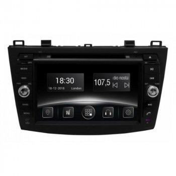 Штатная магнитола Gazer CM5008-BL Mazda 3 BL 2010-2014 (27287)