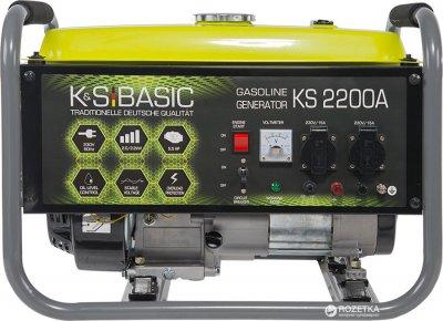 Генератор бензиновый Konner&Sohnen BASIC KSB 2200A