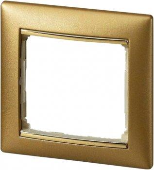 Рамка 1-постова Legrand Valena Матове золото (770301)