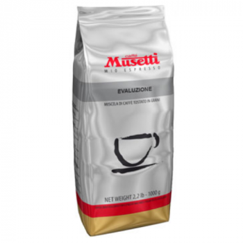 Кофе Musetti Caffe Evoluzione в зернах 1000 г