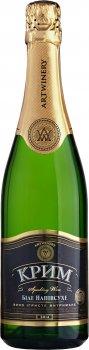 Вино игристое Крим белое полусухое  0.75 л 10-13.5% (4820003350089)