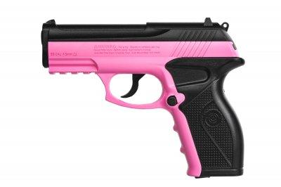 Пистолет пневматический CROSMAN Wildcat (розовый, с кобурой) Crosman Розовый