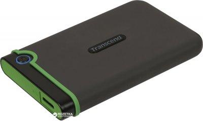"Жорсткий диск Transcend StoreJet 25M3S 1TB TS1TSJ25M3S 2.5"" USB 3.1 Gen 1 External Iron Gray"