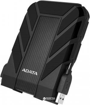 "Жорсткий диск ADATA DashDrive Durable HD710 Pro 2TB AHD710P-2TU31-CBK 2.5"" USB 3.1 External Black"