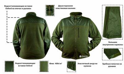 Куртка Kodor Fleece Universal К0323 52-54 Green
