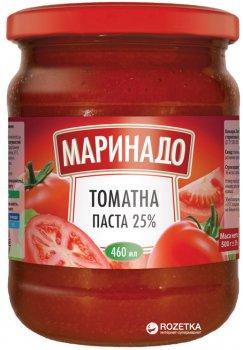 Томатная паста Маринадо 25% 460 мл (4820078571099)