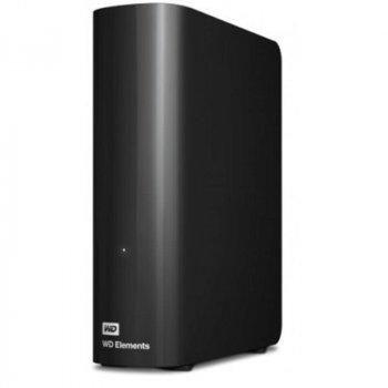 """Накопичувач зовнішній HDD 3.5"""" USB 6.0 TB WD Elements Desktop (WDBWLG0060HBK-EESN)"""