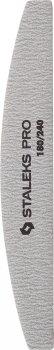 Пилка півмісяць мінеральна для нігтів Staleks Pro 180/240 гритів 5 шт. набір (NFB-41/2) (4820121598387)