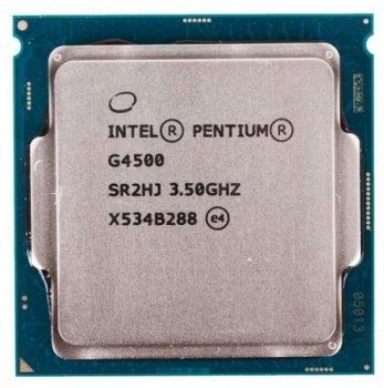 Процесор s-1151 Intel Pentium Dual-Core G4500 3.5 GHz/3MB Tray (CM8066201927319)