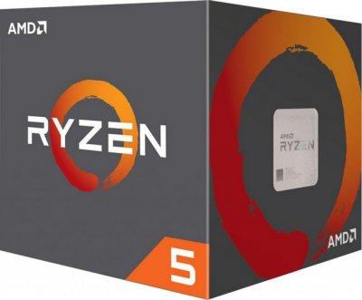 Процесор AMD Ryzen 5 1400 (3.2 GHz 8MB 65W AM4) Box (YD1400BBAEBOX)