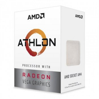 Процессор s-AM4 AMD Athlon 220GE BOX (YD220GC6FBBOX)