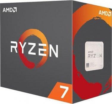 Процесор s-AM4 AMD Ryzen 7 2700X BOX (YD270XBGAFBOX)