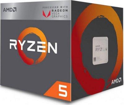 Процесор AMD Ryzen 5 2400G (3.6 GHz 4MB 65W AM4) Box (YD2400C5FBBOX)