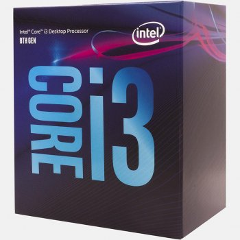 Процесор s-1151 Intel Core i3-8100 3.6 GHz/6Mb BOX (BX80684I38100)