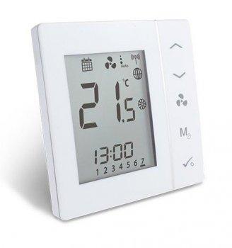 Терморегулятор для фанкойлів SALUS FC600 вбудований монтаж працює з ситемою Smart Home