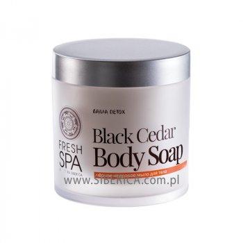 Мыло SIBERICA PROFESSIONAL FRESH SPA BLACK CEDAR BODY 400 мл (поврежденная упаковка) (4744183014343B)