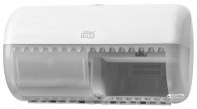 Диспенсер для туалетного паперу TORK Twin 557000 Білий