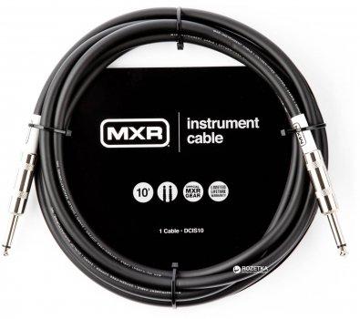 Інструментальний кабель Dunlop DCIS10 MXR Standard 3 м Black