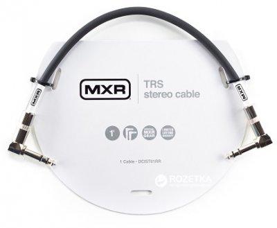 Інструментальний патч-кабель Dunlop DCIST01RR MXR TRS Stereo Cable 0.3 м Black